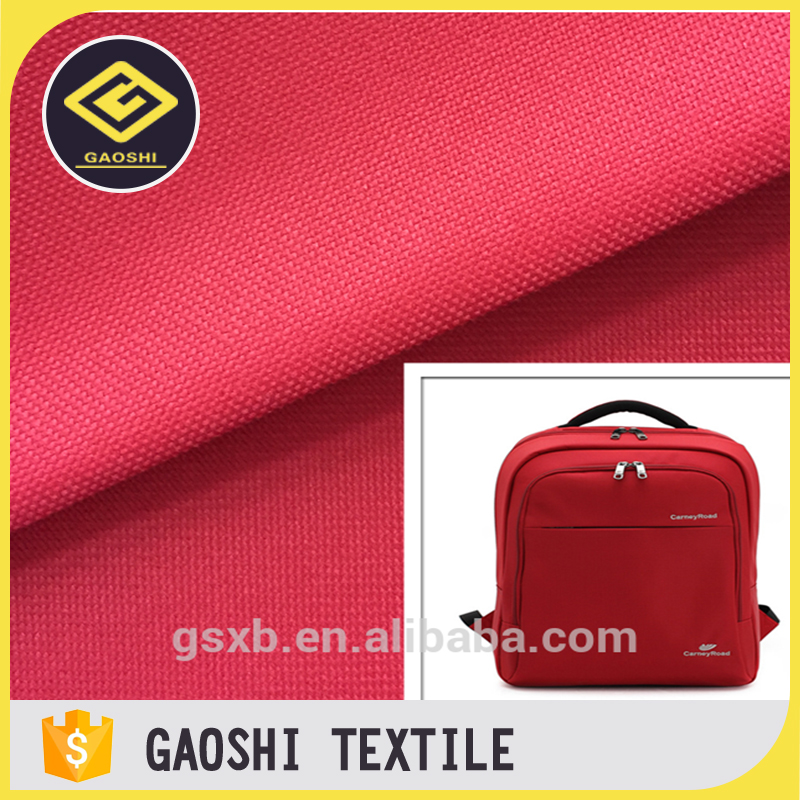 China Made 100% Polyester 600 Denier Waterproof Oxford Backpack Bag Fabric
