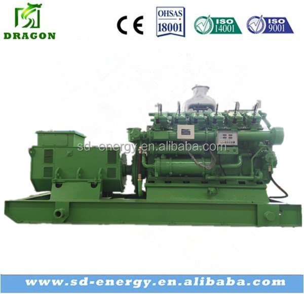 Customized Color 400KW Natural Gas Generation with International brand alternator