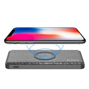 New Qi Standard Wireless Charging Power Bank 5000mAh