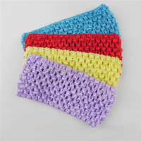 customized colourful headband crochet pattern