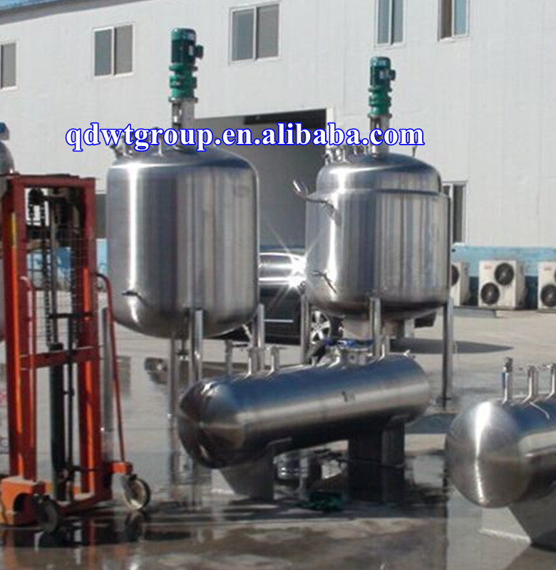 1500l jacketed oil heating reactor for alkyd resin