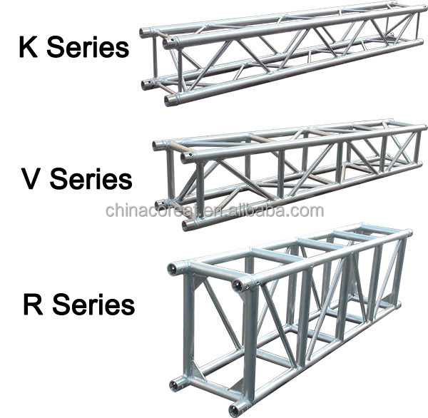 Square / Triangular aluminum spigot truss screw truss for show, stage,lighting,exhibition stage equipment