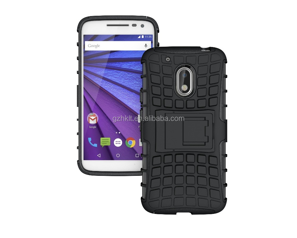Best Selling Armor Holster Belt Mobile phone back Case cover For Motorola G4