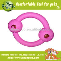 rubber pocket pets toys with bell