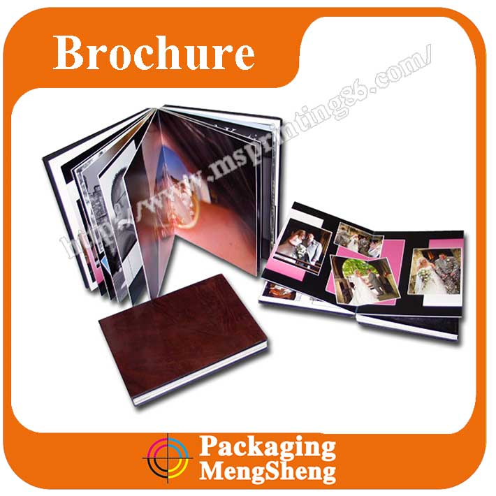 High quality paper wedding card album,wedding photo album book printing