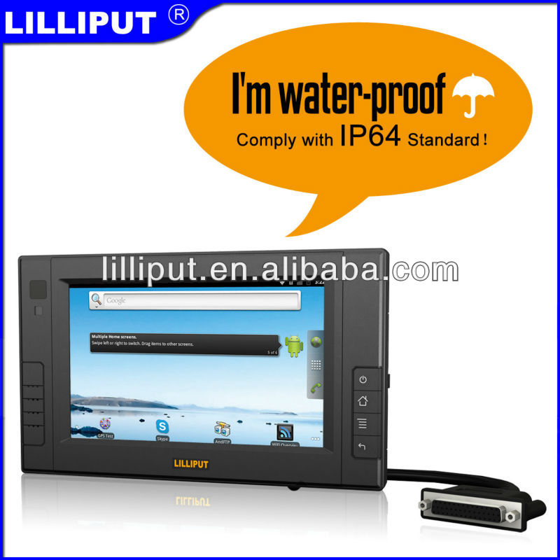"LILLIPUT NEW 7"" Embedded Industrial PC with Freecale Imx. 53x 800MHz/ 1.0GHz"