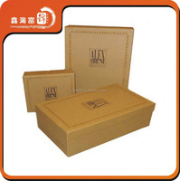 China factory wholesale craft paper shoe packaging box