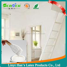 environmentally friendly acylic building outdoor&indoor emulsion paint white indoor acrylic paint