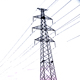 Galvanized 132Kv ELectric Transmission Line Steel Tower