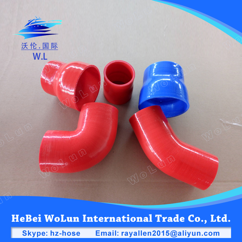 High performance car parts turbo kit air intake hose silicone rubber hose
