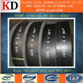 China Belt High efficiency Best Price 28OZ Cutting-Edge Black Flat Transmission Belt