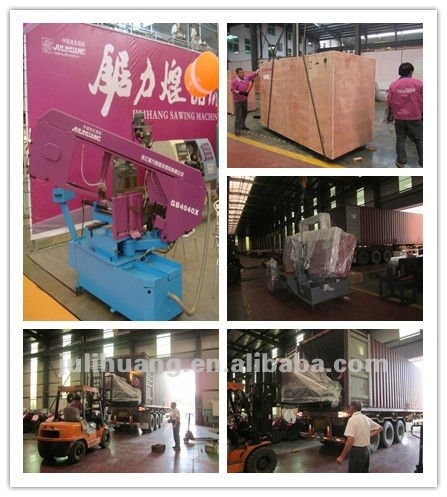 High Quality JULIHUANG CE ISO Approved CNC Full Automatic OEM/ODM Band Sawing Machine Iron Steel Metal Quick Cutting