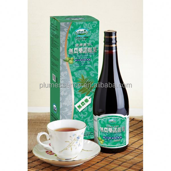 Free Sample, Noni Enzyme Essence Noni Fruit Juice Concentrate, Soft Drink, Tea, Beverage