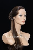New style 100% stright and curl indian remy full lace wigs