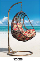Strong portable outdoor or indoor furniture , high quality living room swings