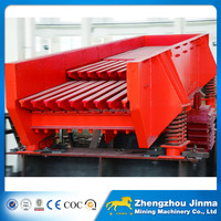 China Hot Selling Electromagnetic Vibrating Feeder Machine at Quarry Plant