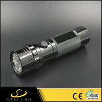 3*AAA Battery Powered Handheld Metal Material 14 led Flashlight SS-1400