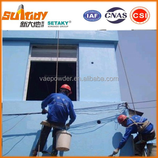 exterior wall putty skim coat finishing plaster