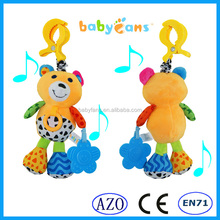 Babyfans best made toys international soft musical bear plush baby toy