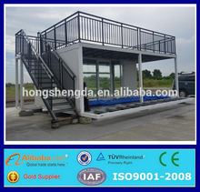 modern metal frame container portable coffee shop for sale