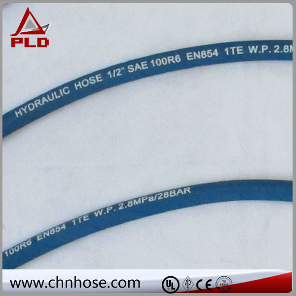 industrial flexible fire retardant hydraulic hose 4sp4sh