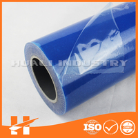 Temporary protection blue film for glass