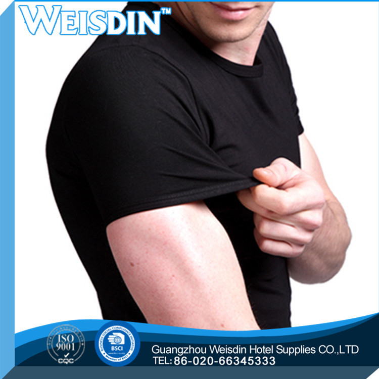 washed china wholesale viscose/cotton polyester spandex long sleeve t shirt men