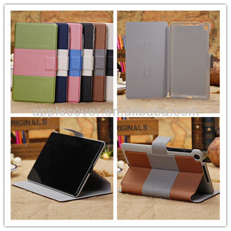 Leather wallet case for google nexus 7