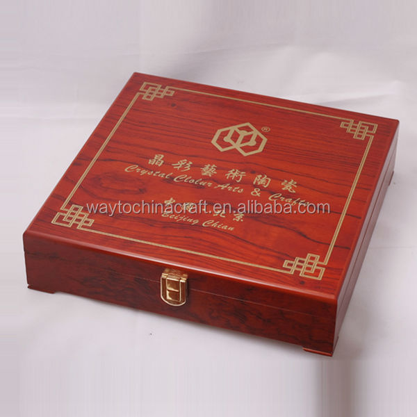 High quality wood jewel, wine, gift box, wooden finished jewelry boxes
