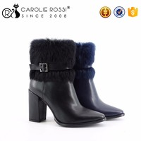 Women Globe Shoes Fluffy Winter Boots Worldwide Hot Sale
