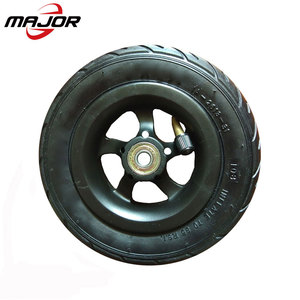 150mm air rubber pneumatic 6 inch wheels for child skate board