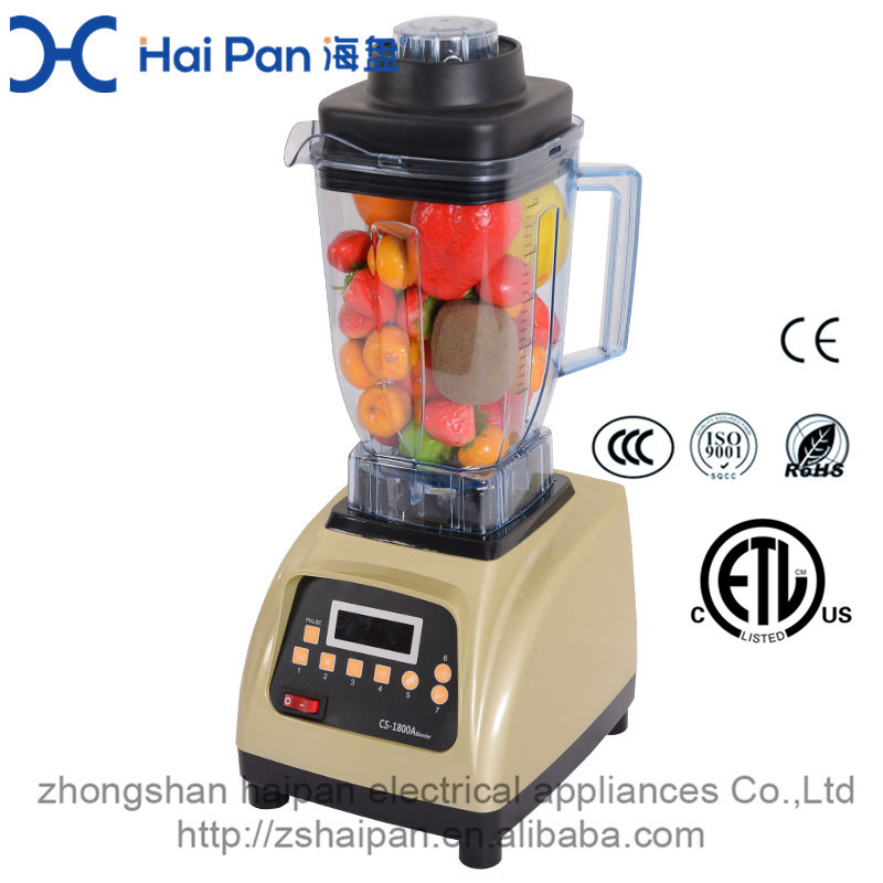 2100w fruit Peanut Coconut Dressing New Design Commercial Electric Blender Smoothie Maker and Table Blender