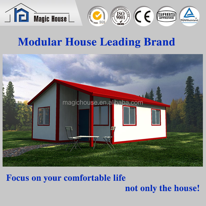 Beautiful prefab house designs, high quality prefabricated log cabin and bungalow,prefab house