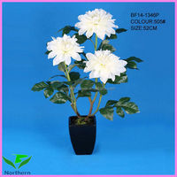real touch cheap artificial flower dahlia
