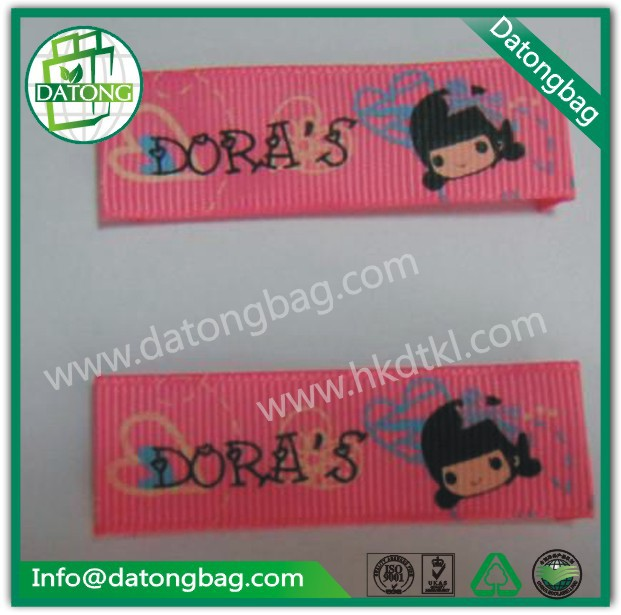 Wholesale Red carton product label clothes label