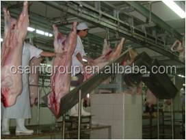 300 per shift Goat slaughtering machine for sheep, goat slaughtering