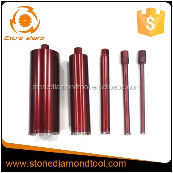 High performance 1-1/4 NUC diamond core drill bits for hard rock