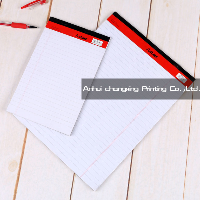 A4 writing pad design notepad of office