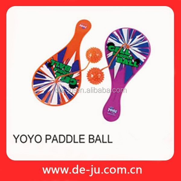 Kids Rubber Sundry Shape Toy Yoyo Paddle Ball
