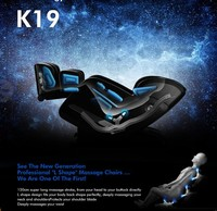 Latest Style 3D massager Chair With Foot Roller Music Feature neck massager battery operated