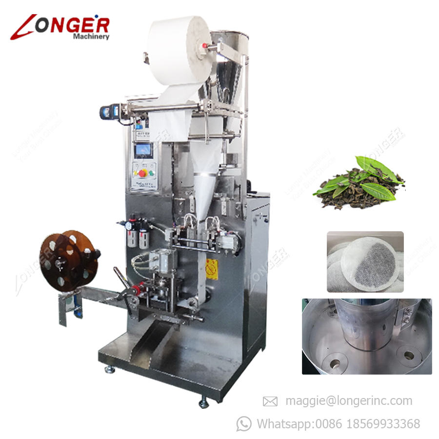High Quality Filter Round Shape Coffee Pod Filling Sealing Making Tea Powder Pod Packaging Round Shape Tea Bag Packing Machine