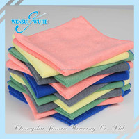 Essential colorful hair drying towels microfiber terry fabric wholesale for cleaning