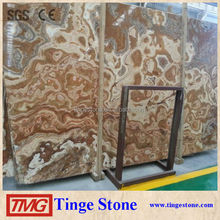 Factory Direct Sale Tiger Onyx Marble Slab Price