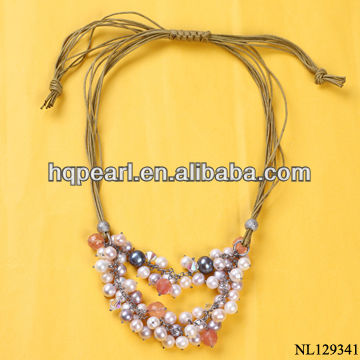 fashion necklace pearl necklace pendant