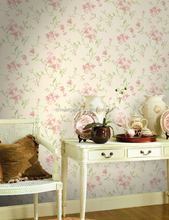 Damask Embossed Small Flower Pattern Wallpaper Made in China