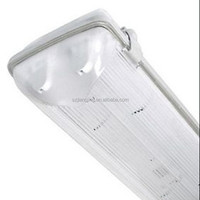 High Brightness 1200mm ip65 waterproof T8 Fluorescents Batten Fixture for gas station