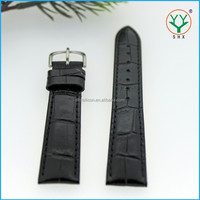 SHX Alligator Pattern PU leather watch strap with different colors