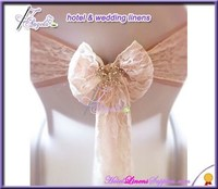 fancy wholesale cheap organza sashes, cheap sashes for special events, wedding chair covers