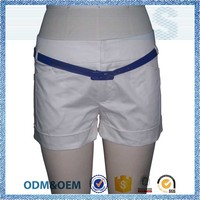NBZC Passed SGS test slim fit cotton short pants
