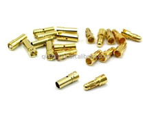 3.5 mm Gold Plated Bullet Connectors